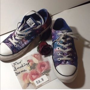 MENS 8 CONVERSE ALL STAR GALAXY ATHLETIC SNEAKERs